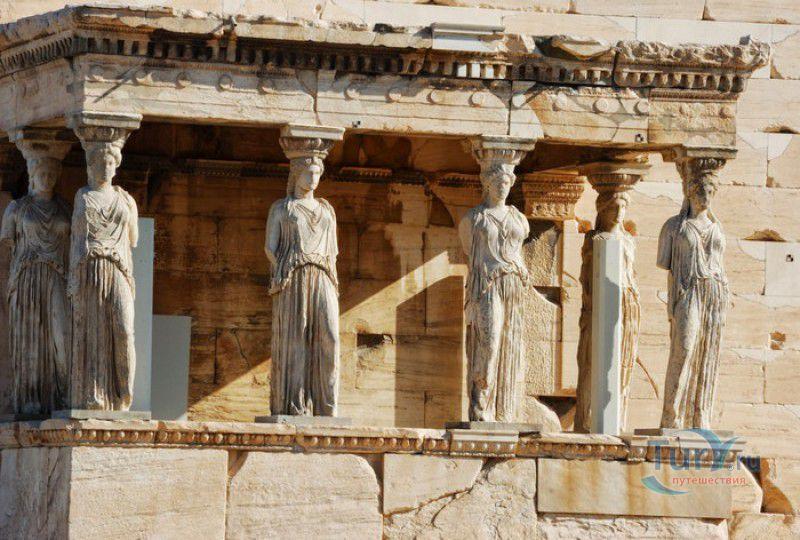Афины расположены